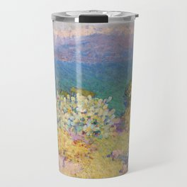 John Peter Russell - In the morning, Alpes Maritimes from Antibes Travel Mug
