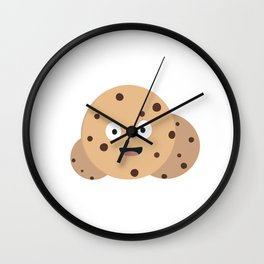 chocolate chips cookies Wall Clock