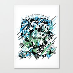Street Diamond Canvas Print