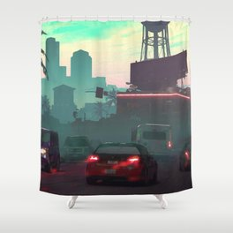 Vice City Shower Curtain