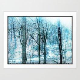 Snow Trees Art Print