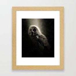 in the dark Framed Art Print