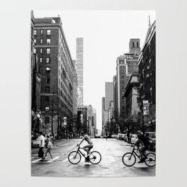 New York City Streets Poster