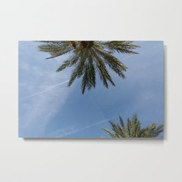skies and highs Metal Print