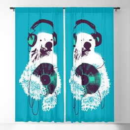 Record Bear Blackout Curtain