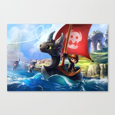 The Dragon Waker Canvas Print