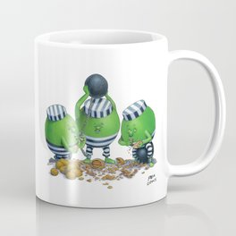 Pea Cons Coffee Mug