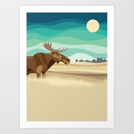 Prairies Art Print