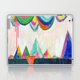 Bliss land abstract candy colored painting Laptop & iPad Skin