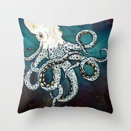 Underwater Dream VII Throw Pillow