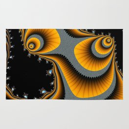 Swirls and Paisley-type Shapes Rug