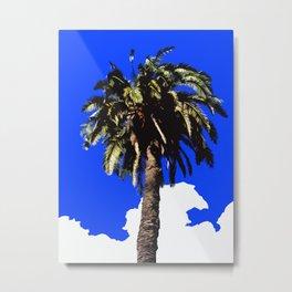 Palm Tree in Lisbon Metal Print
