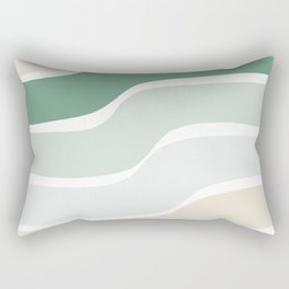 Rainbow Swerve Sorbet Rectangular Pillow