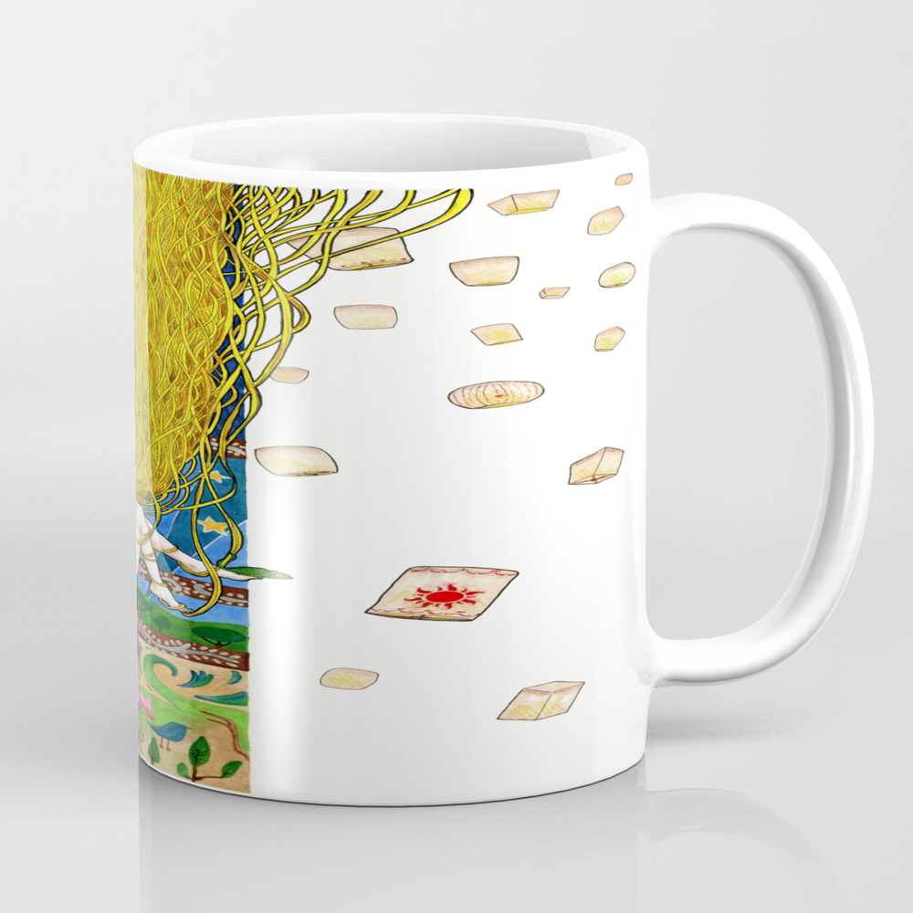 Rapunzel Tea Cup by Alessandrospedicato MUG7998293