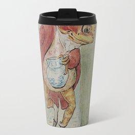 Jeremy Fisher by Beatrix Potter Travel Mug