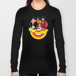 Yellow Submarine - Pop Art Long Sleeve T-shirt