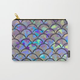 Luminous Mermaid Scales Carry-All Pouch