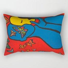 SKIN DEEP  (ORIGINAL SOLD)  #Society6  #decor  #buyart Rectangular Pillow