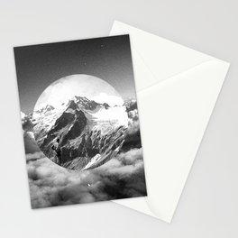 Cielo grigio e pungente Stationery Cards
