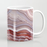 agate Mugs featuring Agate Crystal by Santo Sagese