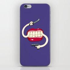 Armed to the Teeth iPhone & iPod Skin
