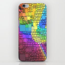 All Squared Away iPhone Skin