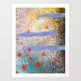 Blot Art Print