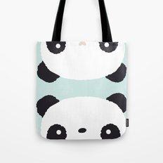 Panda in love Tote Bag
