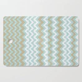 Chevrons and Dots Cutting Board