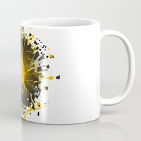 coldplay Mugs featuring Don't Destroy the Vinyl by Sitchko Igor