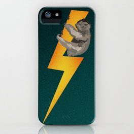 RIDE THE LIGHTNING iPhone Case