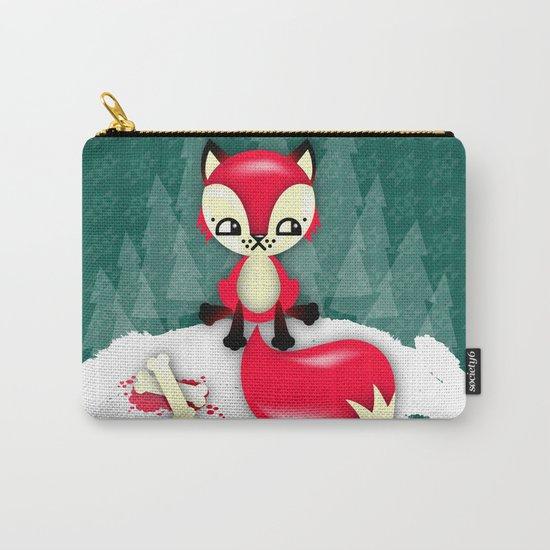 Fox's Christmas Dinner Carry-All Pouch