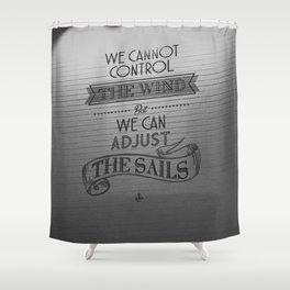 Lido words of wisdom Shower Curtain