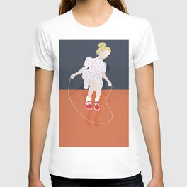 The jump rope game T-shirt