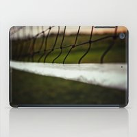volleyball iPad Cases featuring Volleyball Net by Jo Bekah Photography