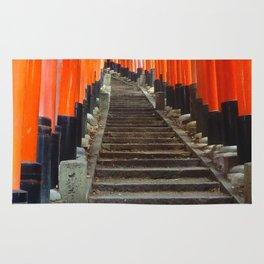 Fushimi Inari Gates Rug