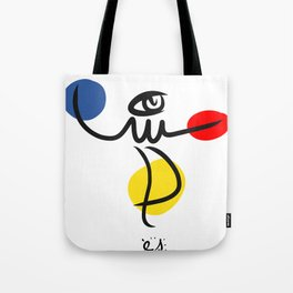 The Juggler of Life Minimal Art Design Tote Bag