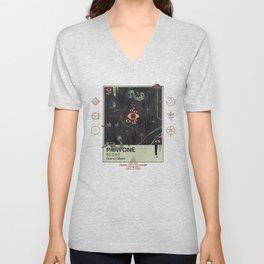 Cosmic Black Unisex V-Neck
