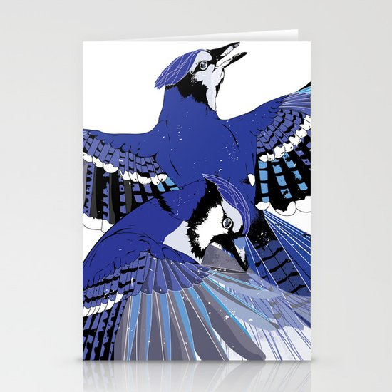 Blue Jays. Stationery Cards