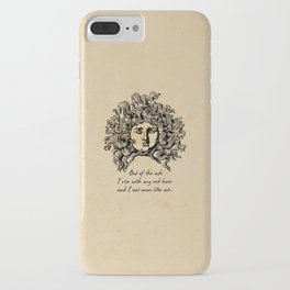 Sylvia Plath - Lady Lazarus iPhone Case