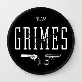 Team Grimes Wall Clock
