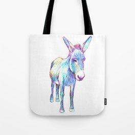 Colourful Donkey Tote Bag