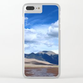 Sangre de Cristo Mountains Clear iPhone Case