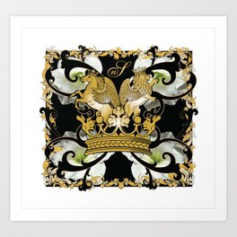 My Empire Collection Summer Set White Flowers Art Print
