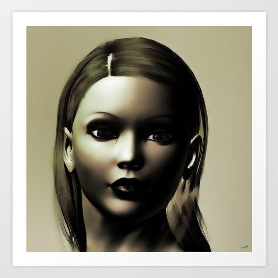 Shadows of Beauty Art Print