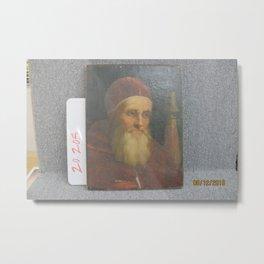 Raphael - Pope Julius II Metal Print