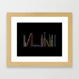 Read More! Framed Art Print