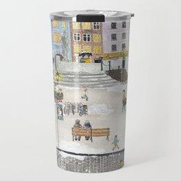 Bielsko Biala Street view Travel Mug