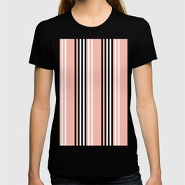 Geometric Design 8 to compliment Horizons Geometric Design 5 - Peach Pink T-shirt