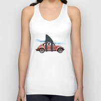 vw Tank Tops featuring VW soup by Vin Zzep